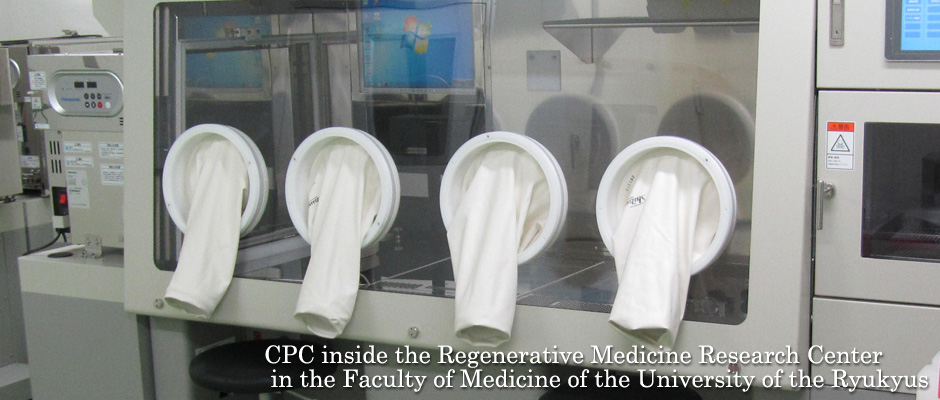 CPC inside the Regenerative Medicine Research Center in the Faculty of Medicine of the University of the Ryukyus